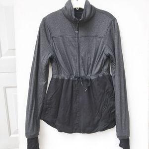 LULULEMON tunic Jacket 4 6 reversible black gray